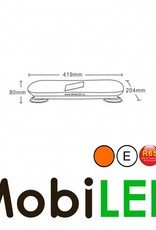 Flash barre  classique Ambre ensemble aimant E-marque