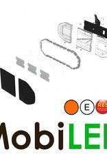 Barre flash 960 mm 64W ECE R10-R65 Ambre