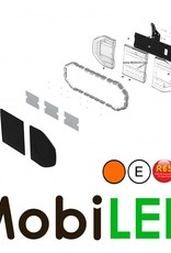 Flitsbalk 960 mm 64W ECE R10-R65 Amber