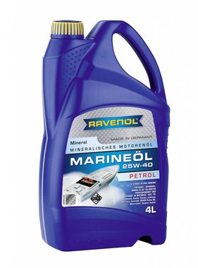 Ravenol Ravenol Marine Oil Petrol 25W40, 4 ltr.