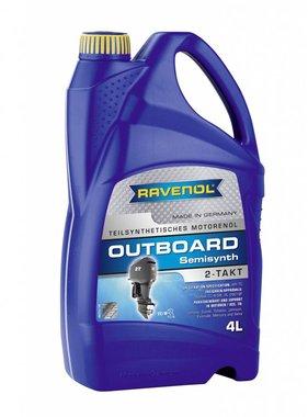 Ravenol Ravenol Outboard Oil 2 stroke semi-synth, 4 ltr.
