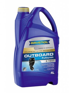 Ravenol Ravenol Outboard Oil 2 stroke full-synth, 4 ltr.