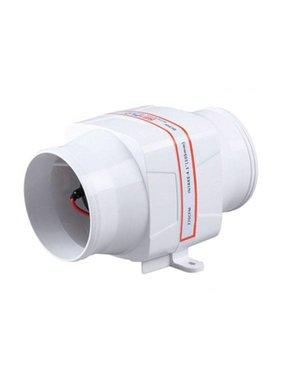 Sea Flo In-line Blower. 130 CFM 12v.