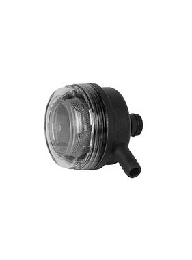 Sea Flo Filter met 90º aansluiting - 1,27 NPT