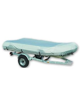 Titan Marine Inflatable boat cover, 600D fabric, Grey. Size 4
