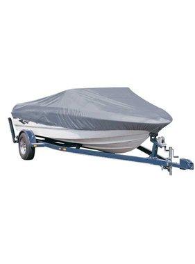 Titan Marine Universal boat cover, silver, 300D fabric. Size 6