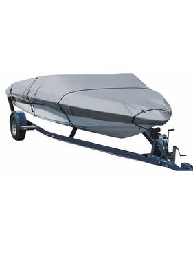 Titan Marine Universal boat cover, Grey, 600D fabric. Size 4