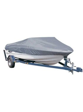 Titan Marine Universal boat cover, silver, 300D fabric. Size 5