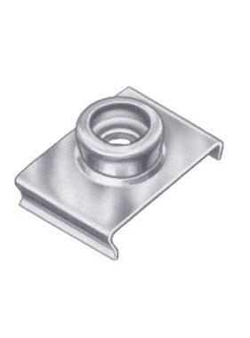 Titan Marine Duurzame punt RVS Windscherm clip, 19 mm