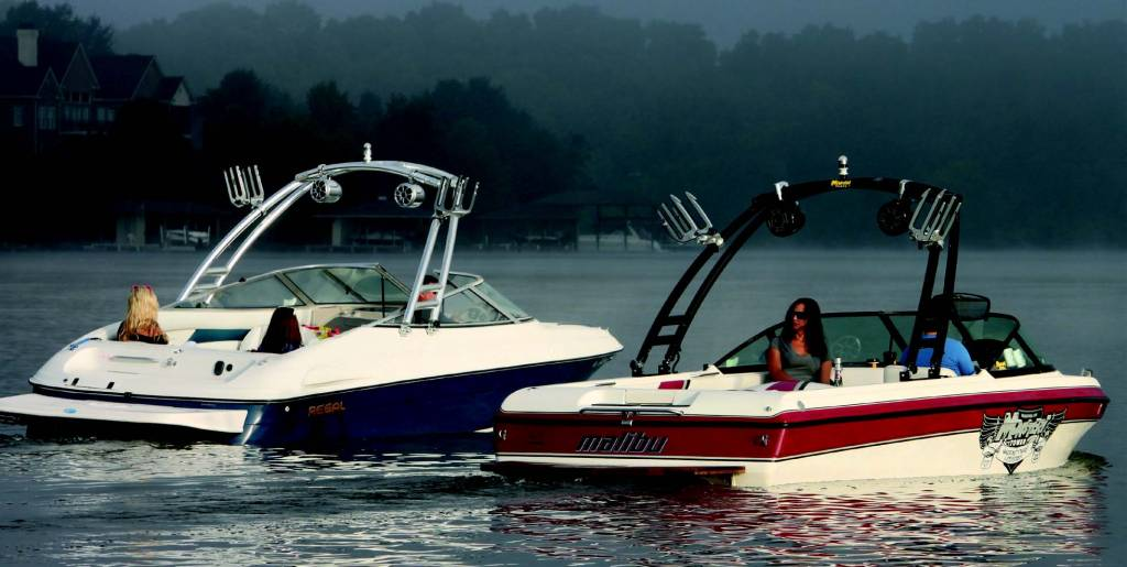 Monster Tower MTK Forward Facing Wakeboard Tower w/Nav ...