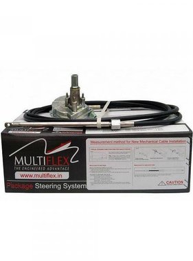 Multiflex controls Lite 55 steering package, 12 Ft.