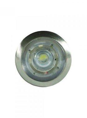 ITC Button LED Courtesy Light Aesthetic Collar (Chrome)