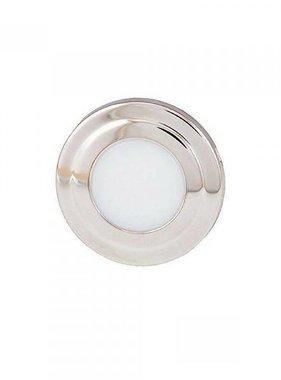 ITC Courtesy light SS LED Round, white/blue combo