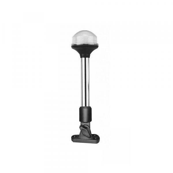 Titan Marine All round licht LED, 23 cm met verstelbare voet, zwart