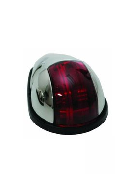 ITC SS Red Nav. Light. Side mount