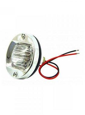 Easterner Round SS Transom Licht, LED-