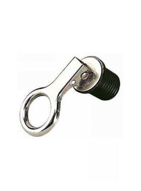 Lenzstopfen mit Schnellverschluss Edelstahl, 32 mm