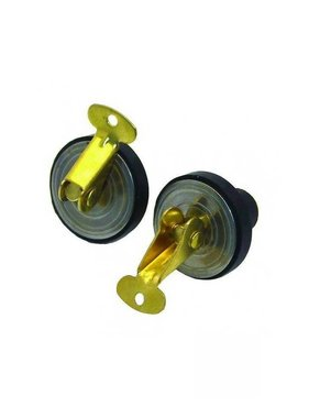 Boatersports Deck and Baitwell Plug 16 mm Pair
