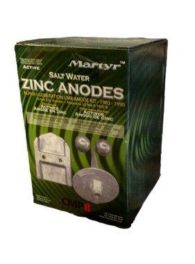 Martyr Anodes Mercruiser Anode Kit, Alpha Gen 1, ZN