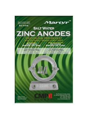 Martyr Anodes Volvo Penta Anode Kit 290-DP, ZN