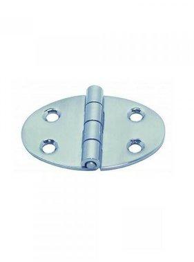 Titan Marine Oval Hinge, casted 56*28*78*2mm