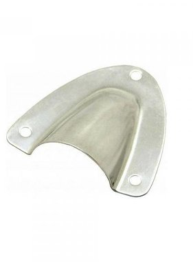 Boatersports Clam Shell Vent, 16 mm, SS