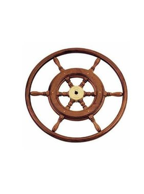 Savoretti Steering wheel Menorca, Wood, 46 cm.