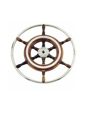 Savoretti Steering wheel Mallorca, Wood, 49 cm.