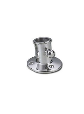 Titan Marine Flag pole socket high model, 25 mm.