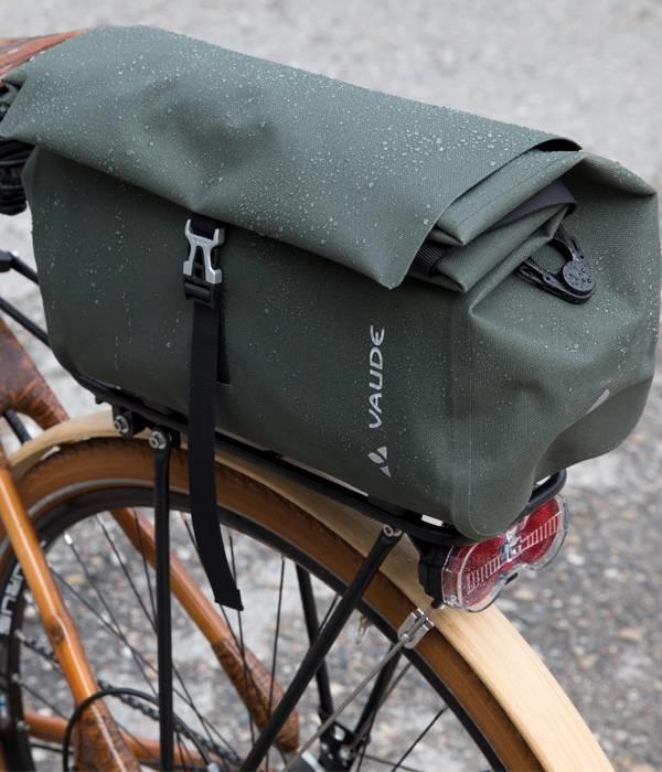 Vaude Comyou shopper: 100% waterdichte fietstas/shopper