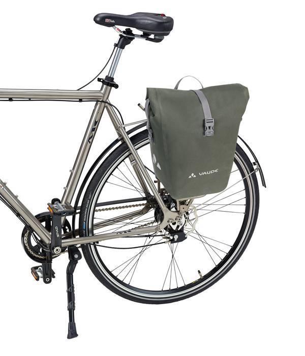 Vaude Aqua Back Deluxe. Luxe fietstassen van de Aqua Back serie