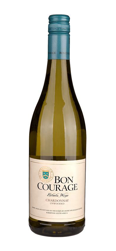 Bon Courage, Südafrika 2017 Chardonnay unwooded, Bon Courage Estate, Robertson