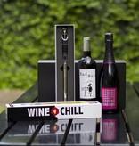 Luxe wijn geschenk set 'Bad Boy & Bad Girl'