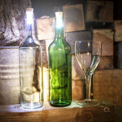 Glow Cork led wine bottle stopper