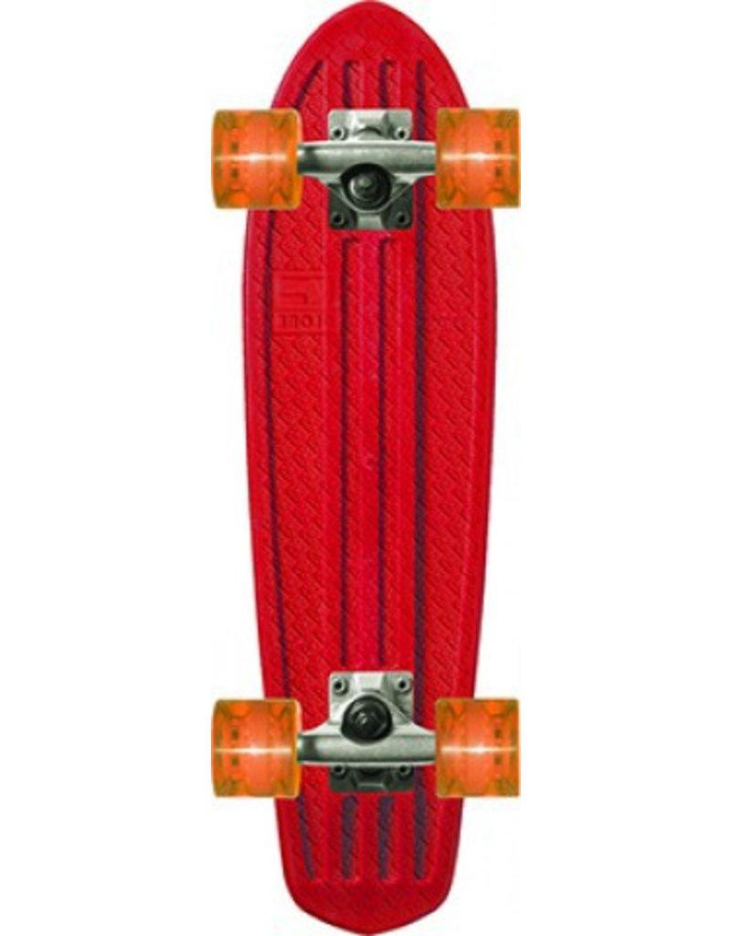"Globe Bantam Cruiser clear Board 24"" red/raw/amber"
