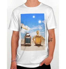 DEDICATED Dedicated Robo Vacay T-Shirt white