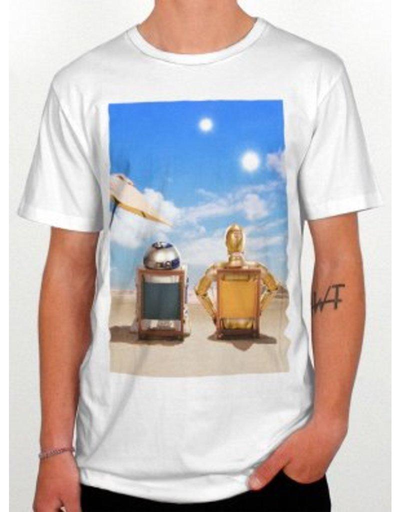 DEDICATED Dedicated Star Wars Robo Vacay T-Shirt white #14176