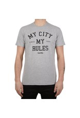 Irie Daily Iriedaily Tee My City My Rules Grey