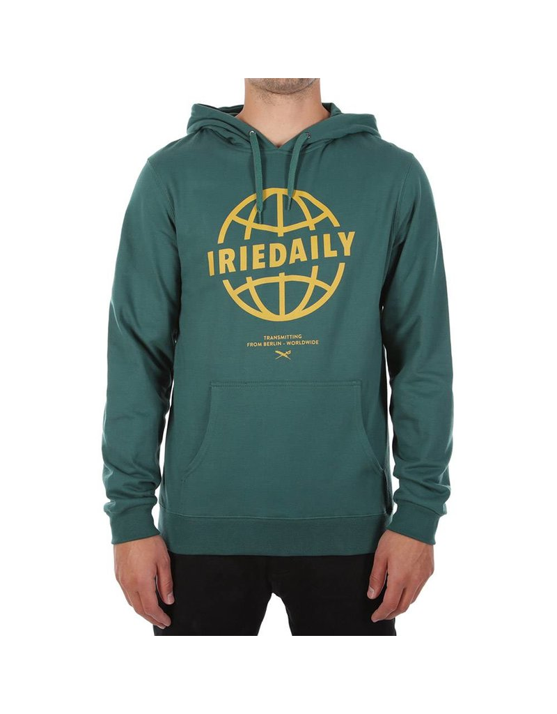 Irie Daily IRIE DAILY Globedaily  Hooded Sweater dark teal 217660