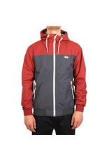 Irie Daily IRIE DAILY Auf Deck Jacket Water Resistant anthra red 986420