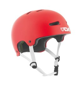 Helmet TSG Evolution Solid Colors rust red S/M