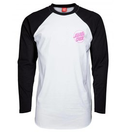Santa Cruz Santa Cruz Party Hand Tee Baseball Raglan