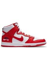 Nike SB Nike SB Dunk High Pro 854851-661 UNIVERSITY RED/UNIVERSITY RED-WHITE