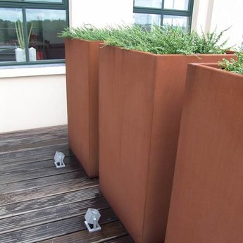 Andes cortenstaal 50x50x50 cm plantenbak