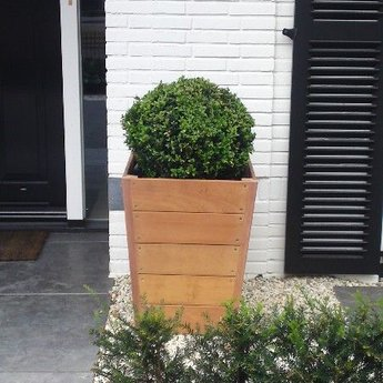 Sevilla 55x55x74 cm houten bloembak
