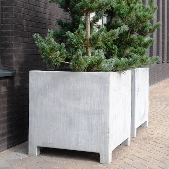 Küchentisch 60 X 60: VADIM Verzinkte Plantenbak 60 X 60 X 60 Cm