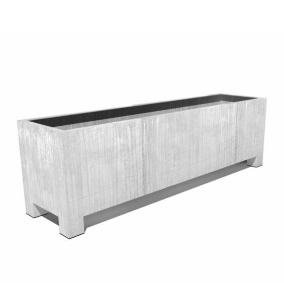 vadim verzinkte plantenbak 200 x 50 x 60 cm. Black Bedroom Furniture Sets. Home Design Ideas