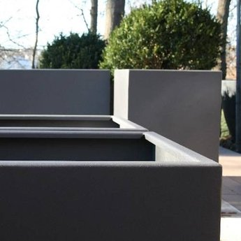 FLORIDA aluminium 120x120x80 cm plantenbak