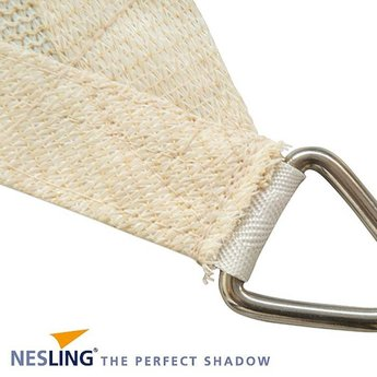 Nesling Coolfit 3.6 x 3.6 m zand schaduwdoek