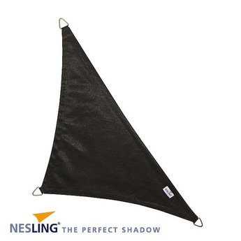 Nesling Coolfit 5 x 5 x 7.1 m zwart schaduwdoek